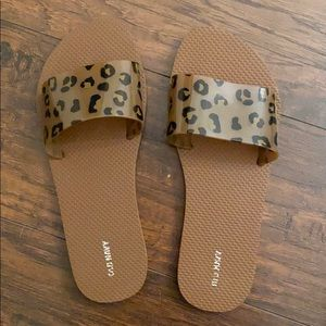 Old navy Leopard Jelly Sandals